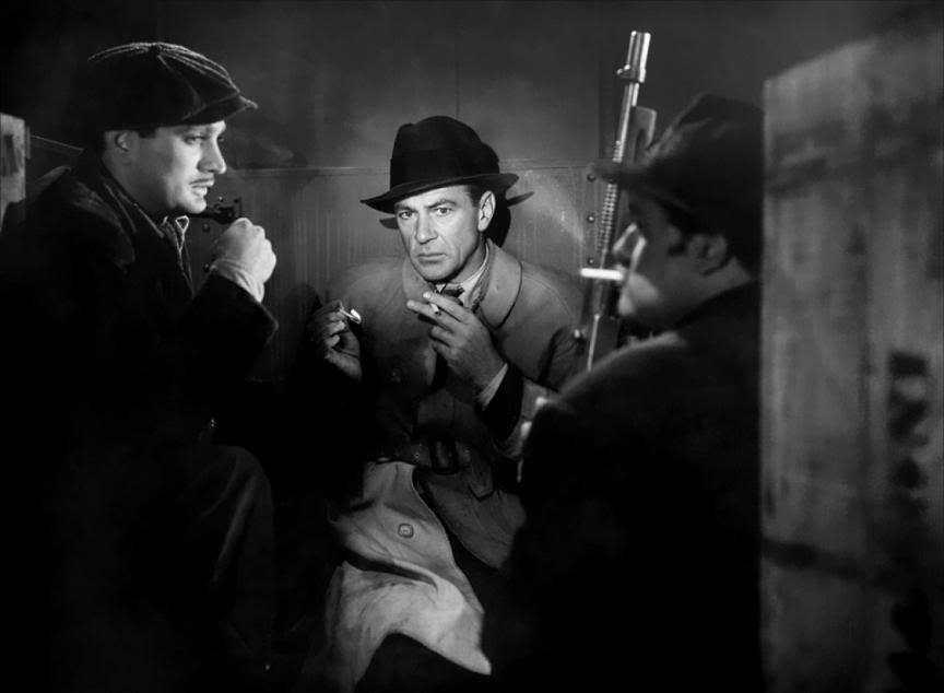 Cloak and Dagger, 1946 - Gary Cooper, Robert Alda & Dan Seymour