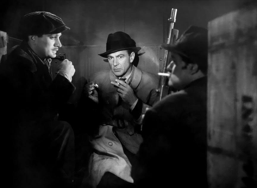 Cloak and Dagger, 1946 - Gary Cooper, Robert Alda & Dan Seymour