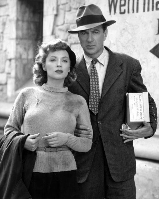 Cloak and Dagger, 1946 - Gary Cooper & Lilli Palmer