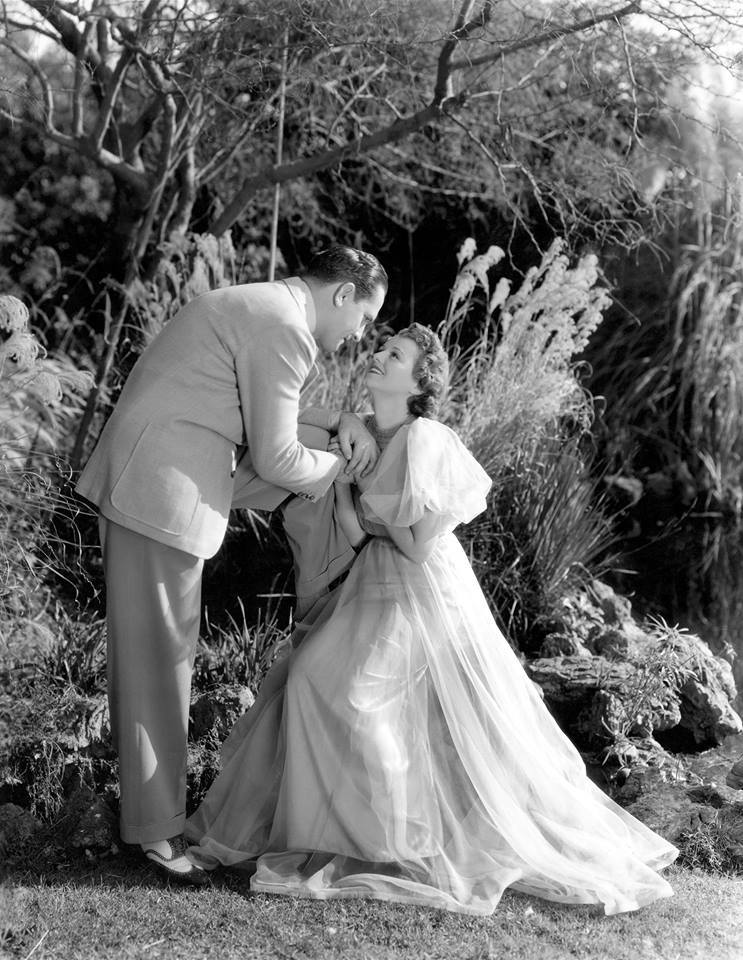 Fredric March & Janet Gaynor