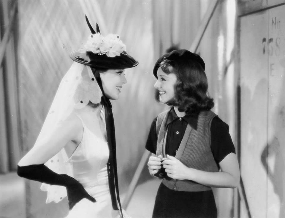 Loretta Young & Janet Gaynor