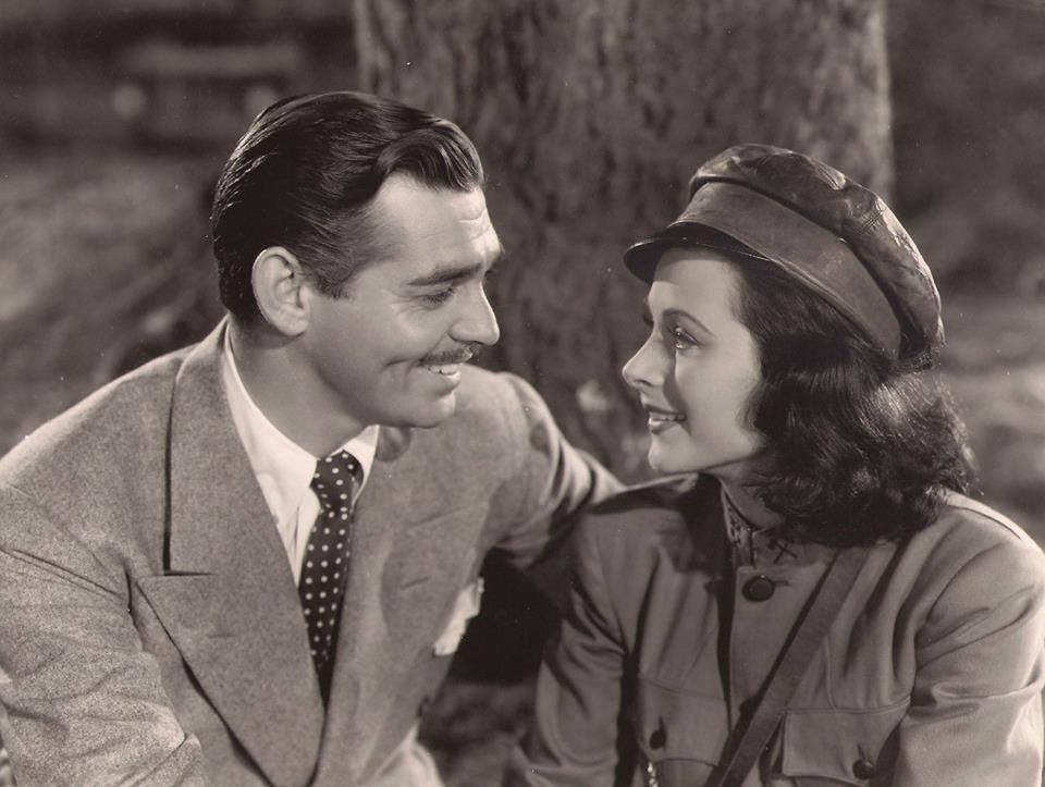 Clark Gable & Hedy Lamarr