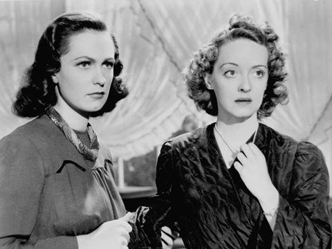 Geraldine Fitzgerald & Bette Davis