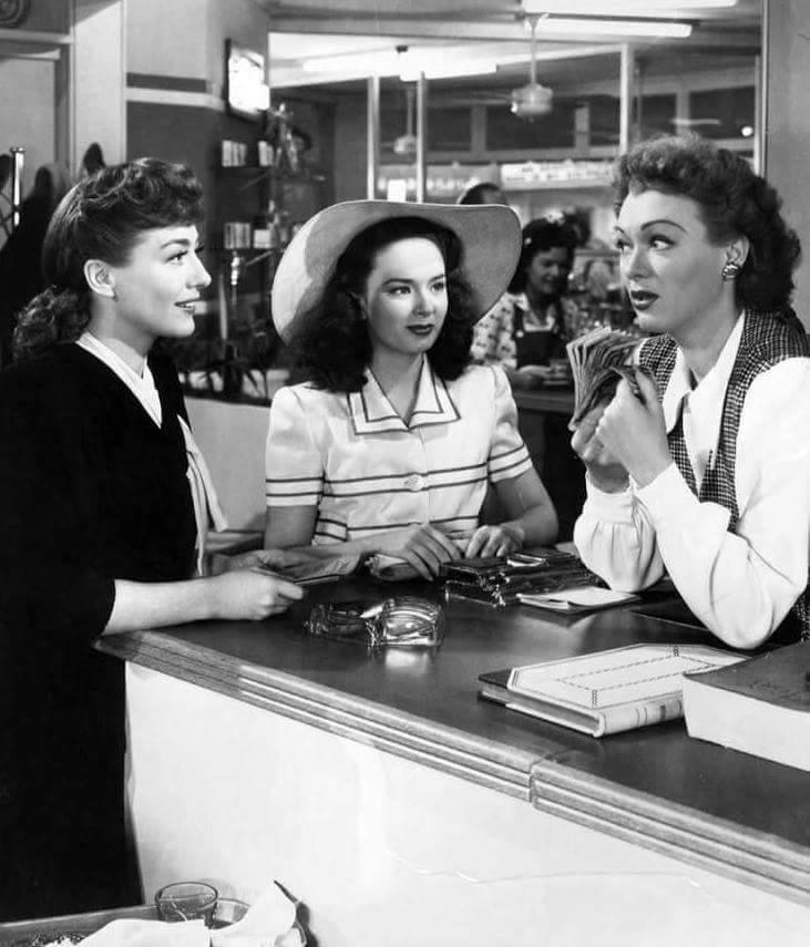 Joan Crawford,Ann Blyth & Eve Arden