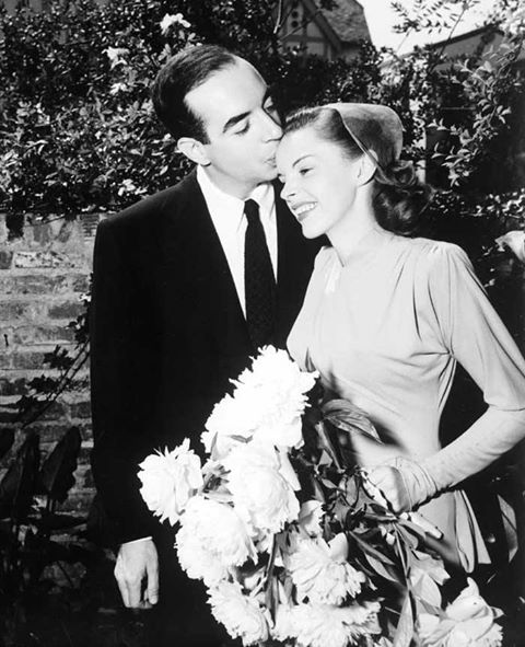 Vincente Minnelli and Judy Garland