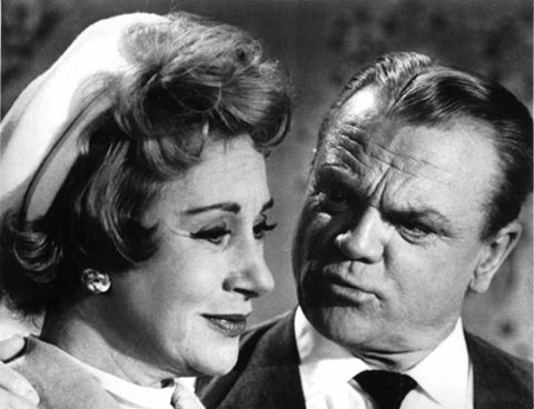Arlene Francis and James Cagney