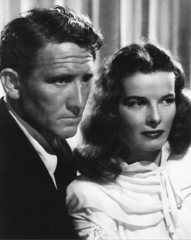 Spencer Tracy & Katharine Hepburn