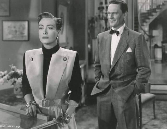 Joan Crawford & Wendell Corey