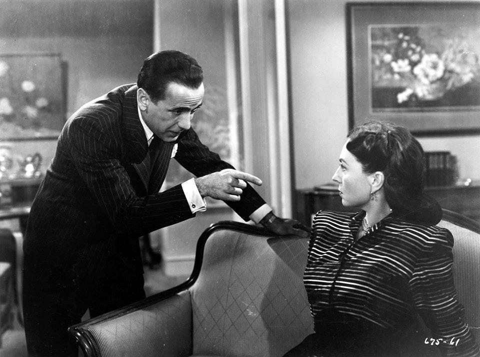 Humphrey Bogart & Agnes Moorehead
