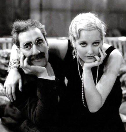 Groucho Marx & Thelma Todd