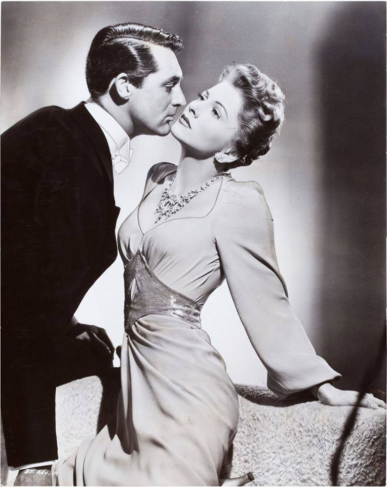 Cary Grant & Joan Fontaine