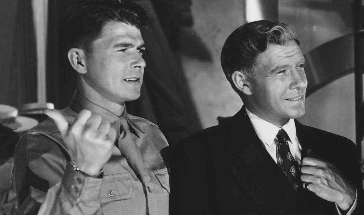 Ronald Reagan and George Murphy