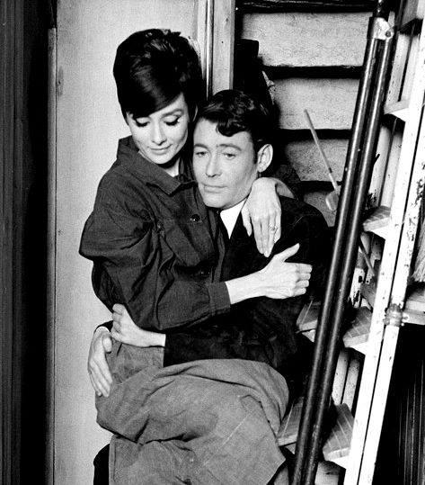 Peter O'Toole & Audrey Hepburn