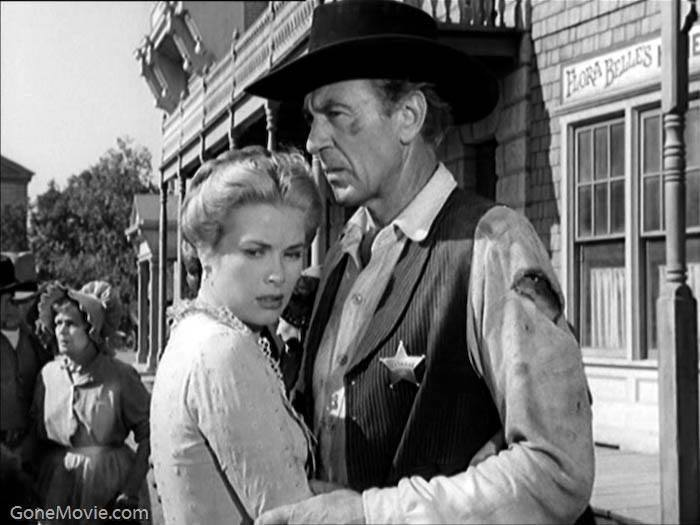 Gary Cooper & Grace Kelly,