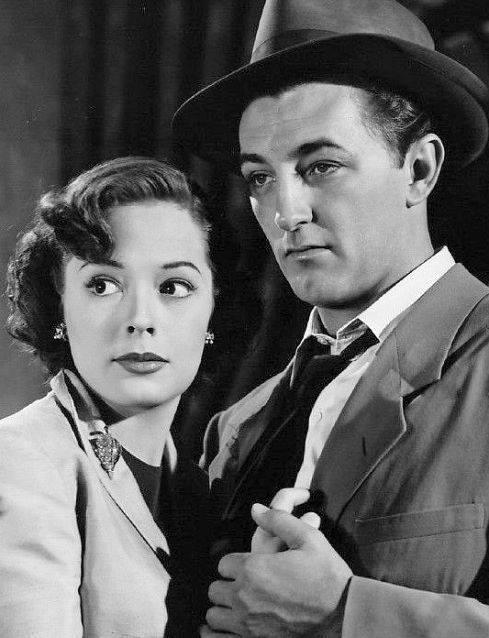 Robert Mitchum & Jane Greer
