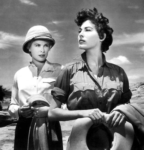 Grace Kelly & Ava Gardner
