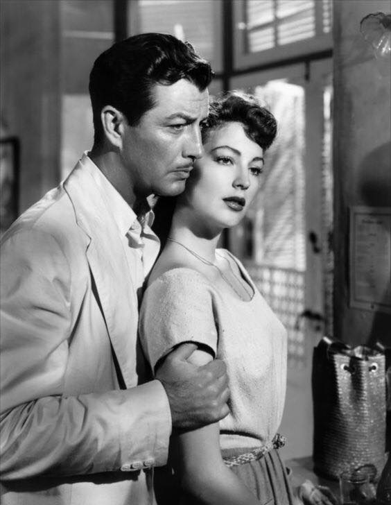 Robert Taylor and Ava Gardner