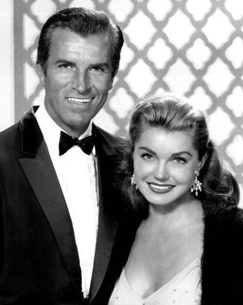 Esther Williams with her husband Fernando Lamas
