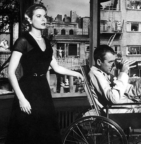 Grace Kelly & James Stewart
