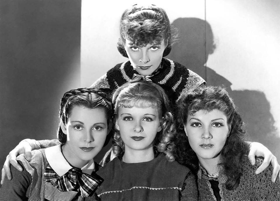 Katharine Hepburn,Frances Dee,Joan Bennett & Jean Parker