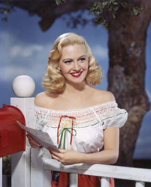 Marilyn Maxwell!