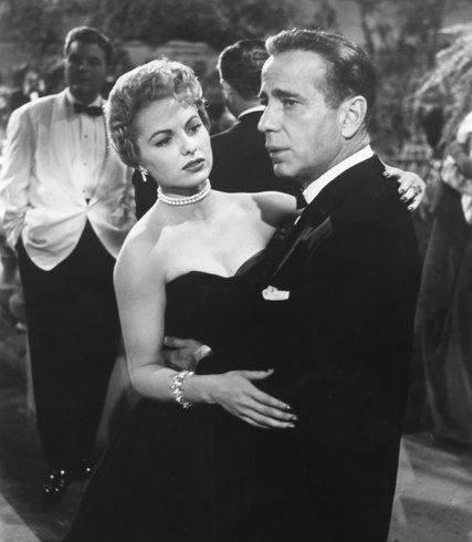 Humphrey Bogart & Martha Hyer