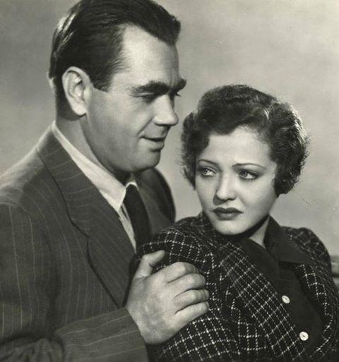 Oskar Homolka & Sylvia Sidney