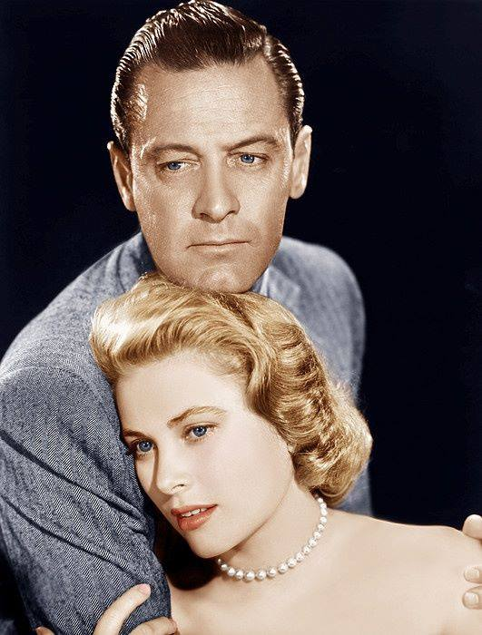 William Holden & Grace Kelly