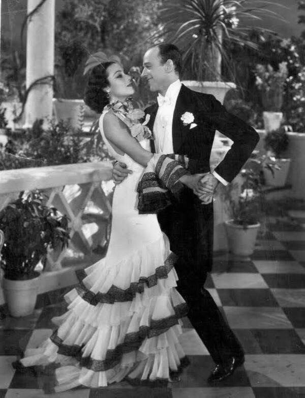 Dolores Del Rio & Fred Astaire