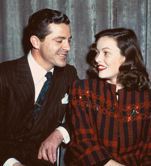 Dana Andrews & Gene Tierney perform Laura for Lux Radio Theater -1945