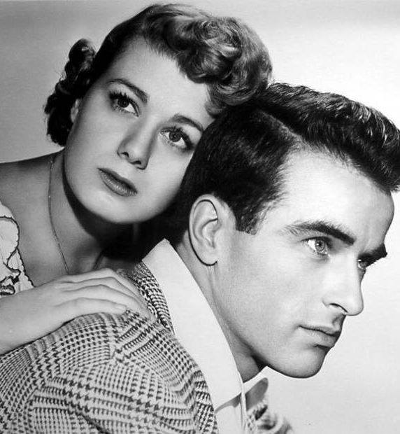 MONTGOMERY CLIFT & SHELLEY WINTERS