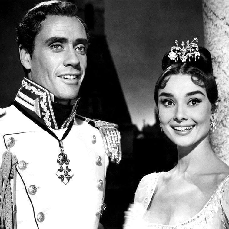 Mel Ferrer & Audrey Hepburn