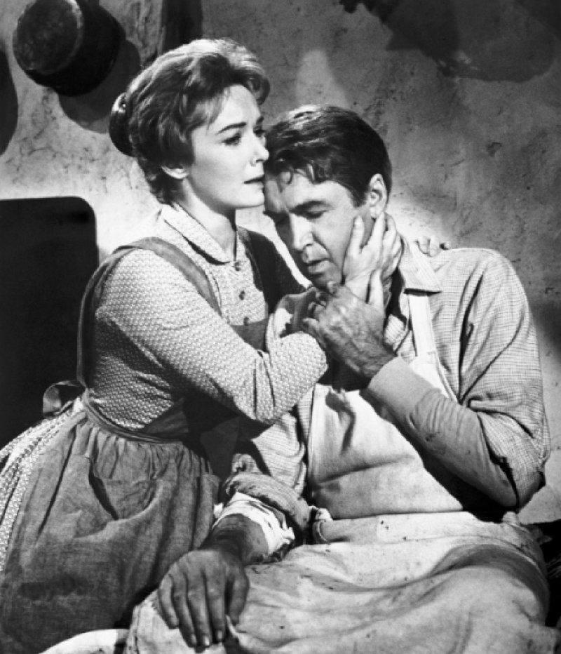 James Stewart & Vera Miles
