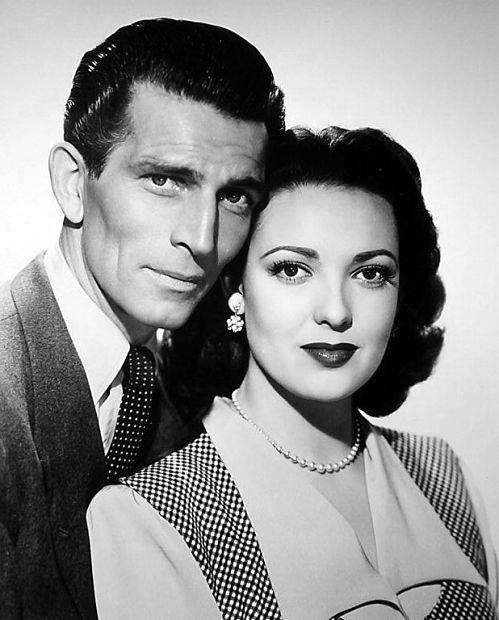 Michael Rennie & Linda Darnell