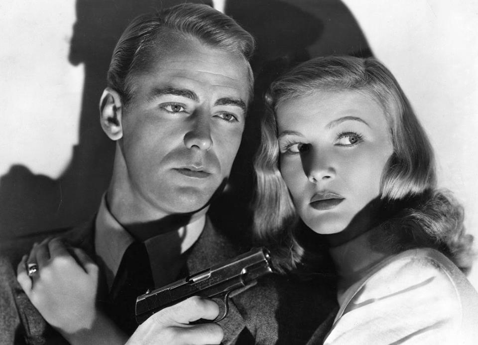 Alan Ladd e Veronica Lake