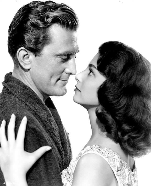 Kirk Douglas e Anna Maria Pierangeli
