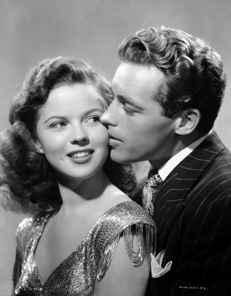 Guy Madison e Shirley Temple
