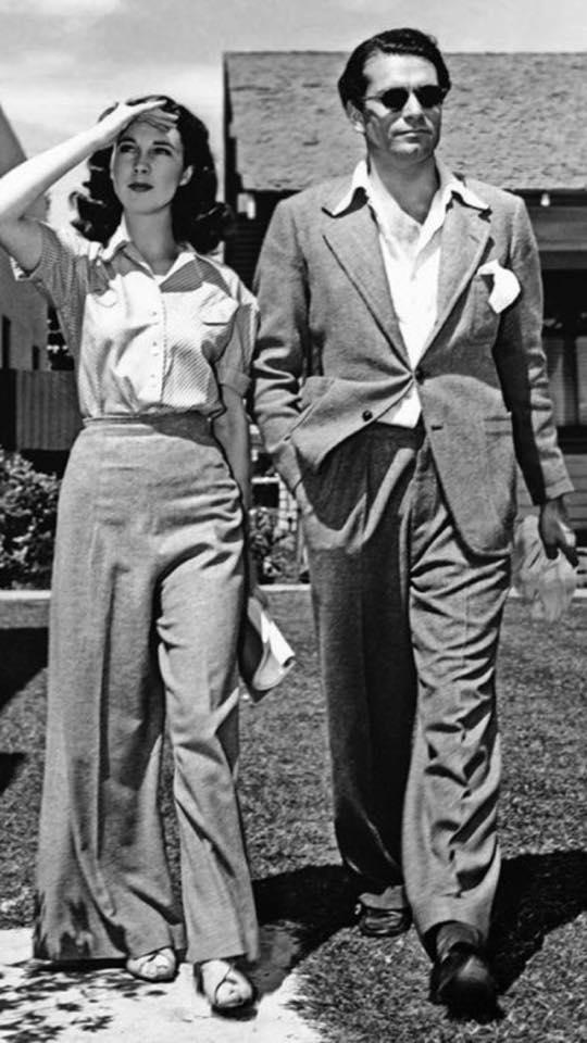 Vivien Leigh with Laurence Olivier