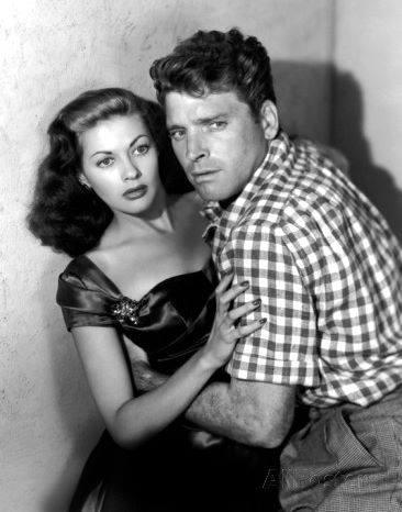 Burt Lancaster & Yvonne De Carlo