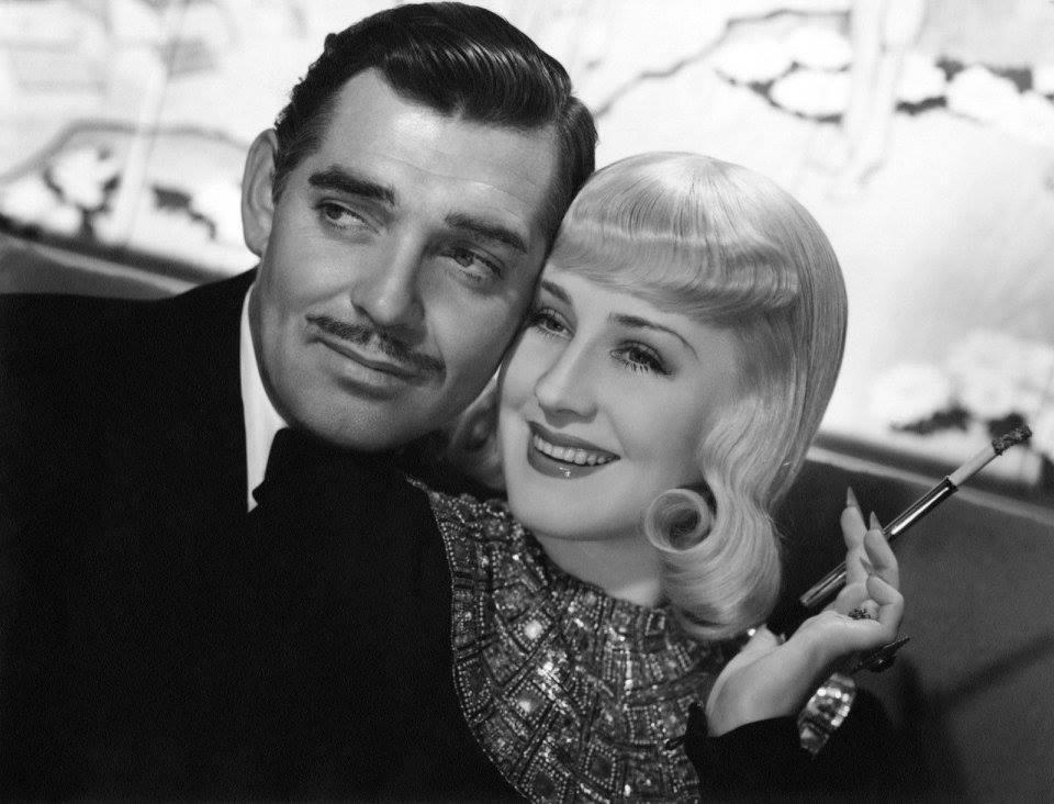 Clark Gable e Norma Shearer