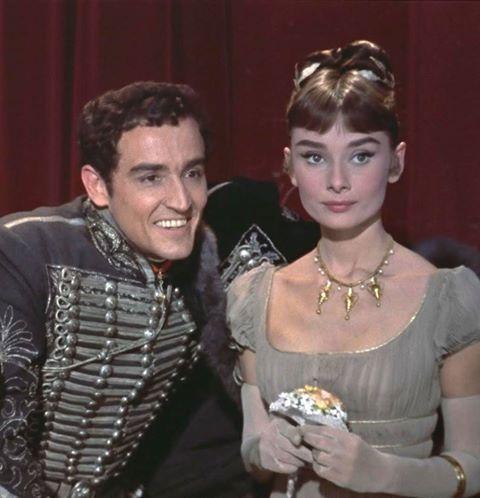 Vittorio Gassman & Audrey Hepburn