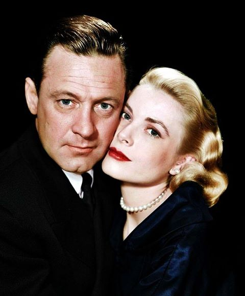 Wiliiam Holden & Grace Kelly