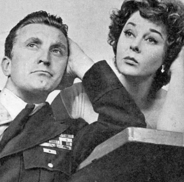 Kirk Douglas e Susan Hayward