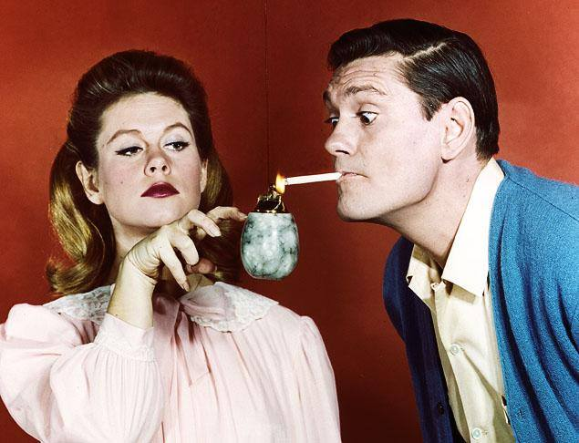 Elizabeth Montgomery and my favorite Darrin--Dick York