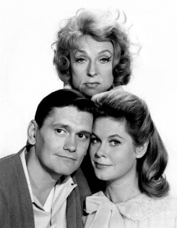 Dick York with Elizabeth Montgomery and Agnes Moorehead