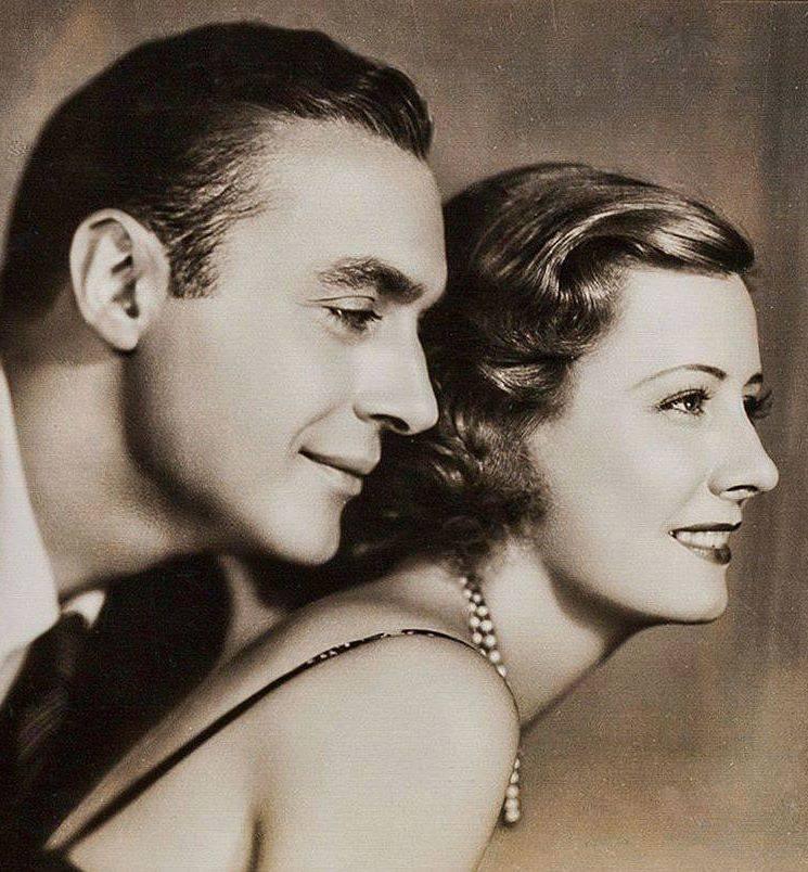 CHARLES BOYER & IRENE DUNNE