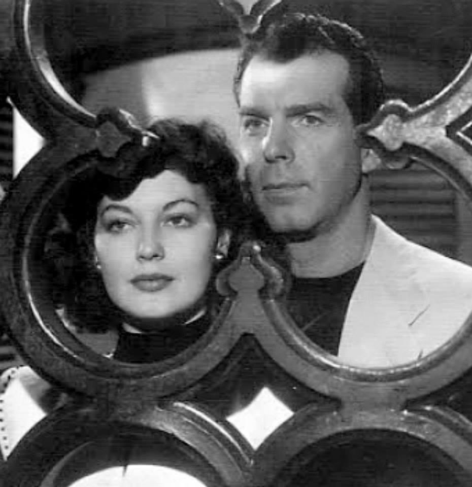 Fred MacMurray e Ava Gardner