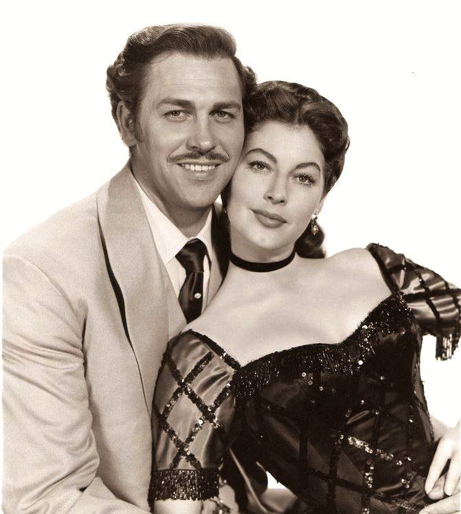 HOWARD KEEL & AVA GARDNER