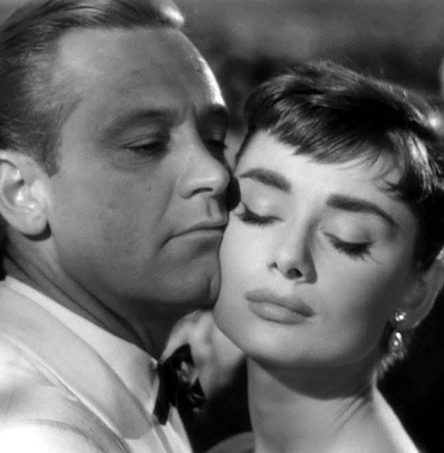 William Holden e Audrey Hepburn
