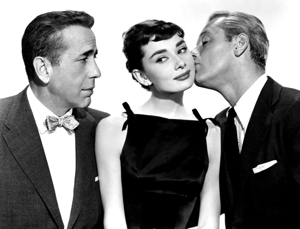 Humphrey Bogart, Audrey Hepburn e William Holden